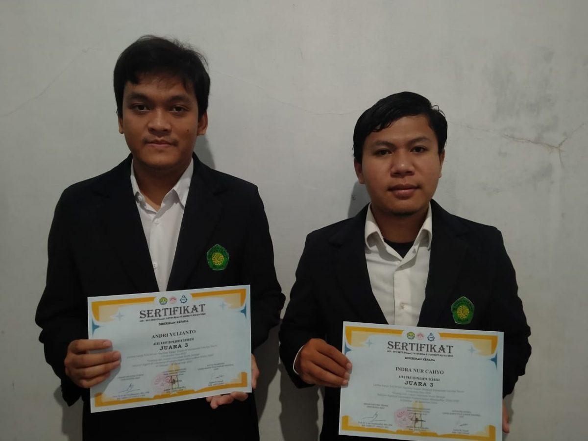 Selamat atas Prestasi Juara 3 Lomba LKTI di Universitas Riau